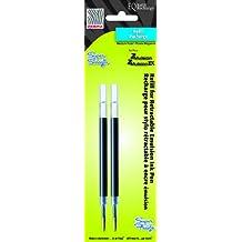 Zebra Pen Z-Mulsion EQ Refill 2-Pack Card, 87312 (Black)