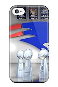 New Style Case Cover WMReoOM1893VKNaE New England Patriots Compatible With Iphone 4/4s Protection Case
