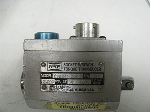 Torque Socket Transducer - GSE Socket Wrench Torque Transducer 50 ft lbs - GSE19