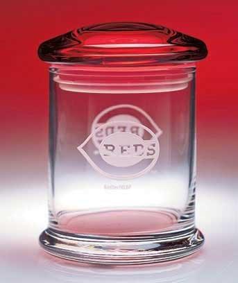 MLBTM Glass Snack & Candy Jars -