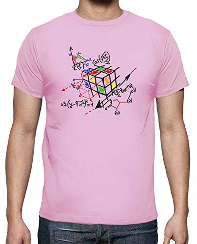 Nero Di Rubik Cubo shirt Rosa Contorno T Uomo Tostadora taYwq7a
