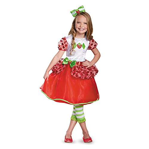 Strawberry Shortcake Deluxe Costume, Small (4-6x)