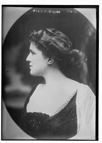 Historic Photographs, LLC Photo: Mrs. Charles Dana Gibson,Irene Langhorne,Irene Gibson