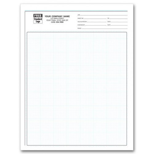 Engineering Graph Pads - 1/8 Inch by PrintEZ