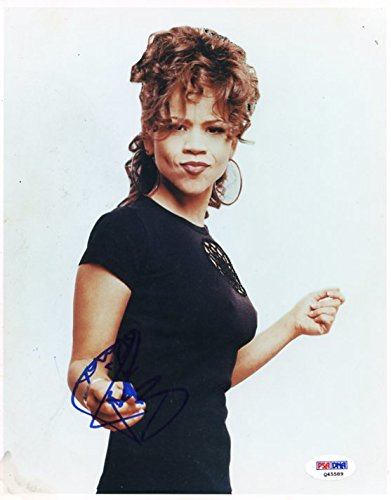 Rosie Perez White Men Can't Jump Signed Authentic 8X10 Photograph PSA/DNA Authentication