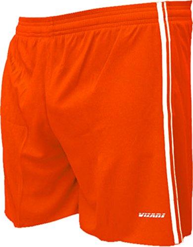 Vizari Campo Soccer Shorts, Orange, Adult Medium