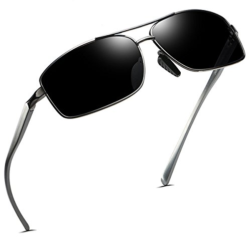 FEIDU+Polarized+Sport+Mens+Sunglasses+HD+Lens+Metal+Frame+Driving+Shades+FD+9005+%28Black1%2C+2.24%29