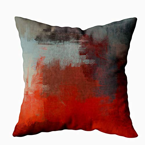 Throw Pillows For Couch Pillow Covers,Decorative Pillow Covers,EMMTEEY 20x20 Pillow Covers Home Throw Pillow Covers Sofa Couch Pillows Illustration ARTISTIC Image Abstract Square Double Sided Printing
