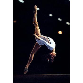 Nadia Comaneci Poster, Romanian Gymnast, Olympic Gold, Gymnastics