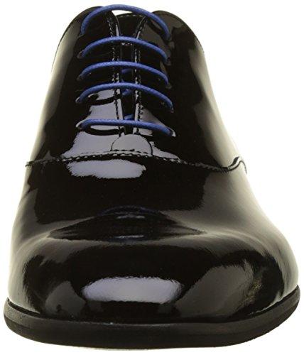Rosino 02 Oxford Noir Noir Azzaro Scarpe Stringate Uomo 080dq4w