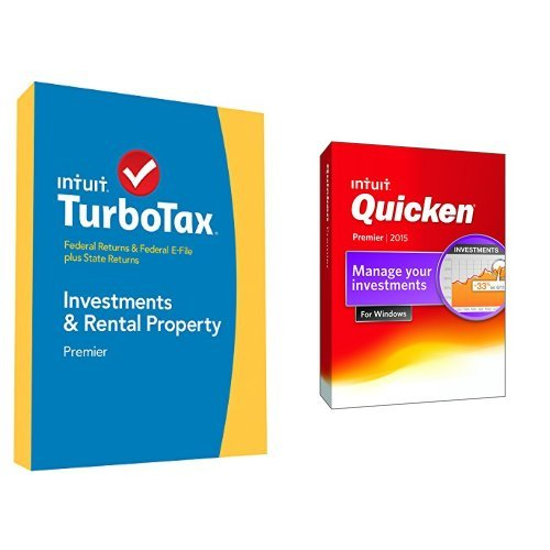TurboTax Premier 2014 and Quicken Premier 2015 Bundle