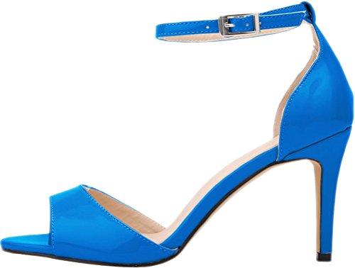 azul CFP con mujer celeste tacón Zapatos wx86x0pHqO