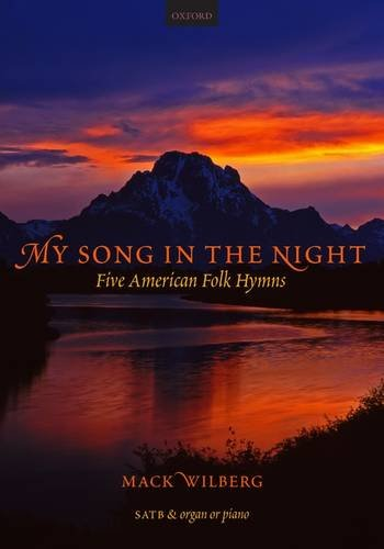 My Song in the Night: 5 American folk-hymns for mixed voices Vocal score - Other Music Choral Sacred