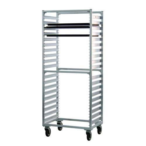 Newage Industrial 1461S Full Height Channel Style Pan Rack, 1.5'' Space, 38 Pan Capacity, Side Load by New Age Industrial