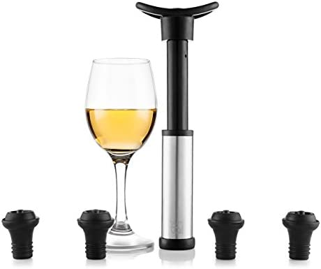 Compra Blumtal Bomba De Vacío Para Vino - Accesorios Vino Incluye ...