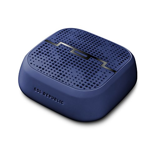 Amazon Lightning Deal 60% claimed: SOL REPUBLIC 1510-46 Punk Portable Bluetooth Wireless Speaker(Navy Blue)