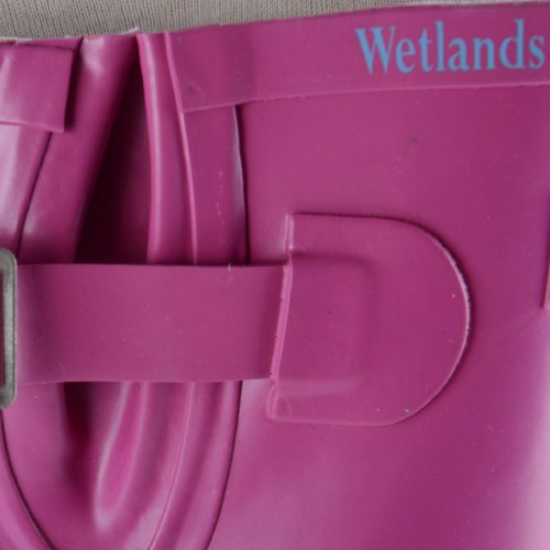 Footwear Sensation - Botas de agua de sintético mujer rosa - fucsia