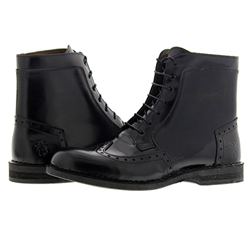 Fly London Womens ILke 922 Fly Pollux Leather Boots Black