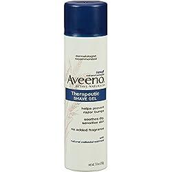 Aveeno Therapeutic Moisturizing Shave Gel, 7 Ounce