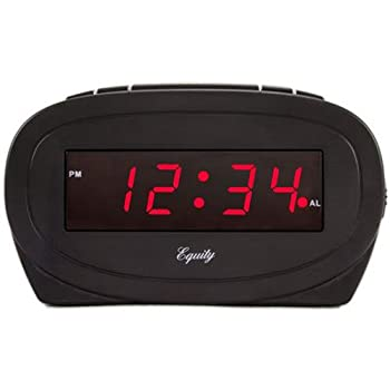 La Crosse Technology 0.6 Led Black Alarm Clock 1