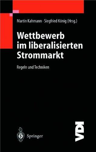 Wettbewerb im Liberalisierten Strommarkt: Regeln und Techniken (VDI-Buch)