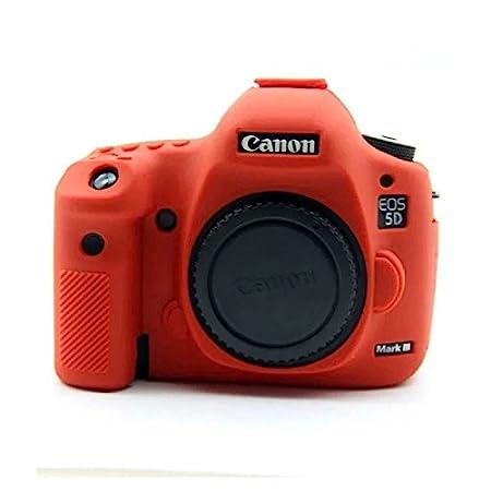 Crisant Case Cover For Canon EOS 5D Mark III Appareil Photo Numé rique, Souple gel de TPU silicone Housse Protection coque é tui Pour Canon EOS 5D Mark III (Noir) GAT camera-17