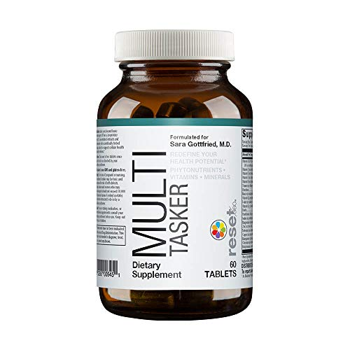 (Reset360 Multitasker Without Iron Daily Essentials, Redefine Your Health Potential, Phytonutrients, Vitamins, Minerals, 60 Tablets)
