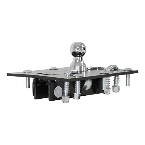 CURT 61052 Over-Bed Folding Ball Gooseneck Hitch (Attached Gooseneck)