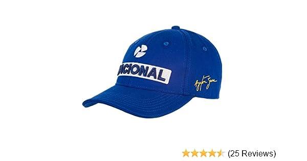 d404a7b7e62 Amazon.com   Ayrton Senna Nacional Cap   Sports   Outdoors