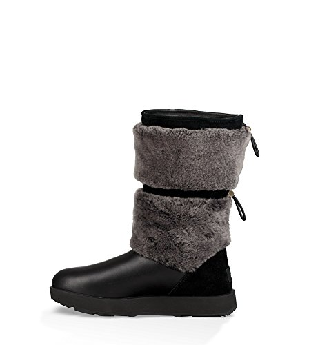 Ugg® Reykir Waterproof Stivali Da Donna Nero Nero
