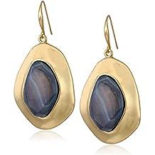 Robert Lee Morris Soho Women's Shell Stone Sculptural Drop Earrings