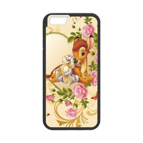 Bambi 019 coque iPhone 6 Plus 5.5 Inch cellulaire cas coque de téléphone cas téléphone cellulaire noir couvercle EOKXLLNCD26230