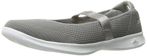 Skechers Performance Women's Go Step Lite-Blooming Walking Shoe,Gray,8.5 M US