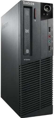 Lenovo ThinkCentre M91p Desktop Computer – Intel Quad Core i5-2400 3.10 GHz, 4GB Memory, 500GB HDD, DVD Windows 10 Professional Renewed