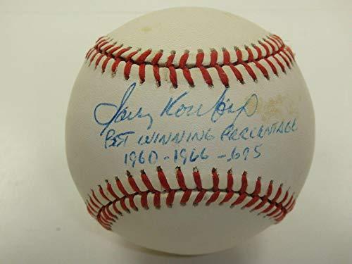 Sandy Koufax Signed Baseball - Inscribed One Of A Kind! - PSA/DNA Certified - Autographed Baseballs