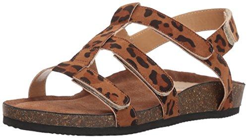 Annie Shoes Women's Selena Huarache Sandal, Leopard, 8 M US