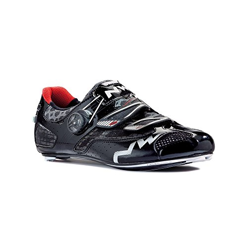 Northwave 2015 Men's Galaxy Road Cycling Shoes - 80141002-10 (Matte Black - 45) from Northwave