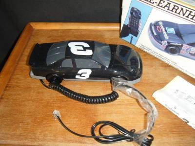 Collectible Dale Earnhardt Fone Gm Goodwrench #3 Nascar Phone by Columbia Tel-Com (Columbia Owls)