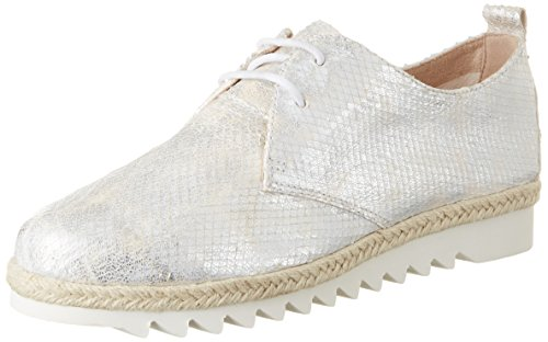 White Oxford Metallic Weiß 23701 CAPRICE Damen wZ8qOIBxPn