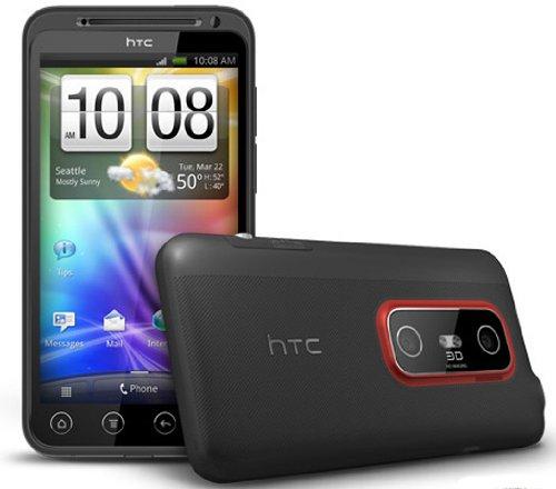 amazon com htc evo 3d 86100 black sprint non retail packaging rh amazon com HTC Sensation Eagles Case for HTC EVO 3D