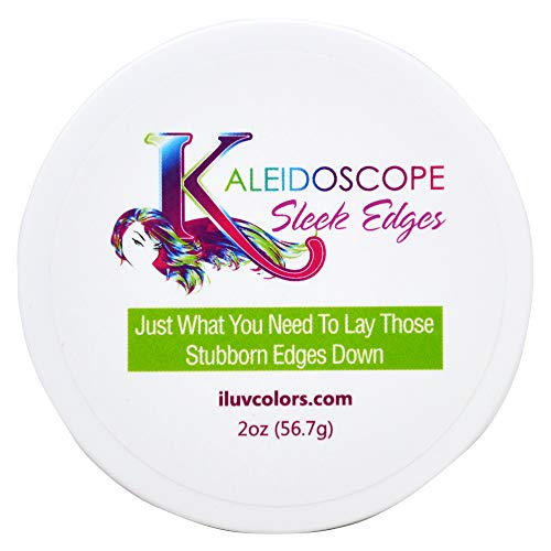 Kaleidoscope Sleek Edges - Smooth Styling for dry or brittle hair 2oz (Miracle Drops For Hair)
