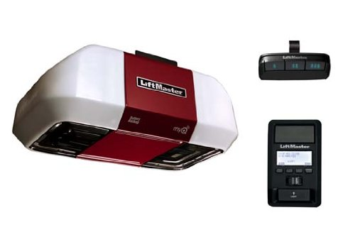 LiftMaster 8550W Belt Drive Garage Door Opener Elite Series DC Battery Backup Without Belt/Rail Assembly ()