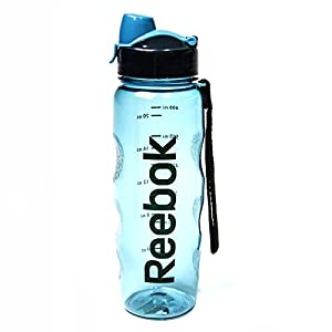 Reebok BPA-Free Water Bottle, Light Blue, 750 ml