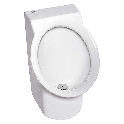 American Standard 6043001EC.020 Decorum 0.125 Gpf High Efficiency Urinal With Back Spud White