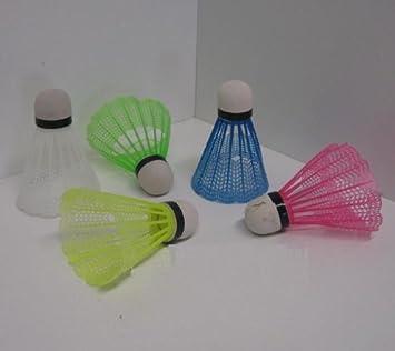 Federball Set 8 Stück Badminton Bälle
