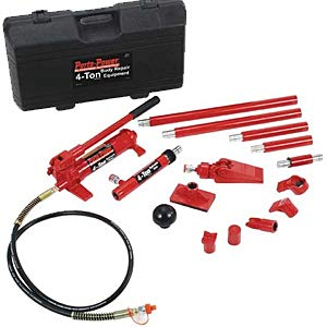 Blackhawk Automotive B65114 Porto-Power Hydraulic Collision Repair Kit - 4 Ton