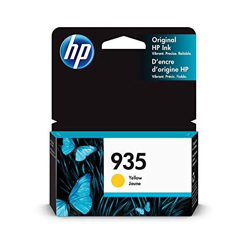 HP C2P22AN 935 Yellow Original Ink Cartridge For Officejet 6812 - 6815 - 6820 - 6825 - Officejet Pro 6230 - 6830 - 6835