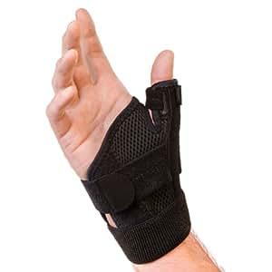 Mueller Thumb Stabilising - Botiquín de primeros auxilios, color negro