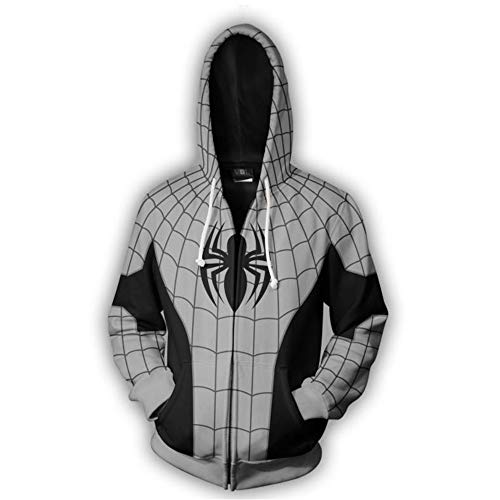 3d Hombres Sudadera Lklik Impresión Spiderman Mujeres Unisex Blindada Con Capucha wvAnRqIdUn