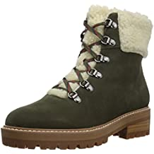The Fix Women's Mika Hiker Boot with Faux Shearling Trim